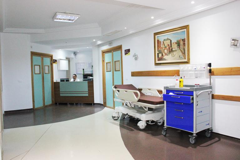 département hospitalisation acceuil
