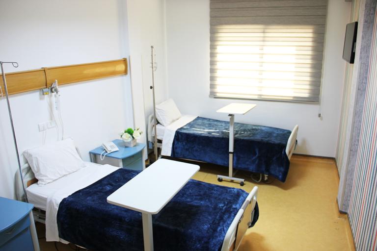 département hospitalisation chambre
